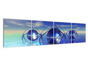 Obraz abstrakce - voda (V021284V16040)