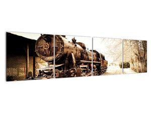 Slika - Povijesna lokomotiva (V021959V16040)