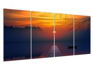 Híd képe naplementekor (V020012V16080)
