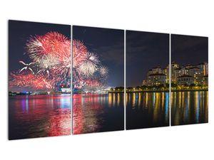 Tablou cu artificii in Singapur (V020035V16080)
