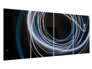 Tablou cu linii albastre (V020053V16080)