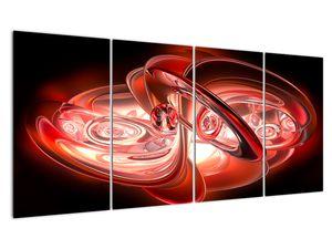 Tablou - forme roșii (V020064V16080)