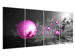Obraz ružových gulí (V020108V16080)