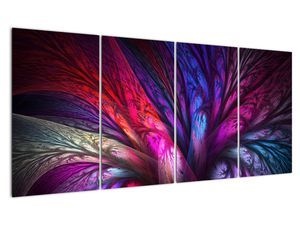 Tablou abstract cu copacul (V020125V16080)