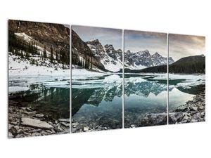 Tablou - lacul iarna (V020181V16080)