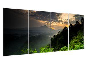Obraz - zelená horská krajina (V020249V16080)