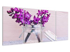 Obraz fialových květin (V020367V16080)