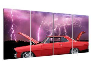 Slika crvenog automobila (V020409V16080)