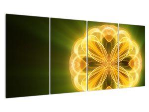 Obraz žluté květiny (V020451V16080)