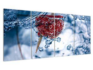 Kép - málna részlete a vízben (V020516V16080)