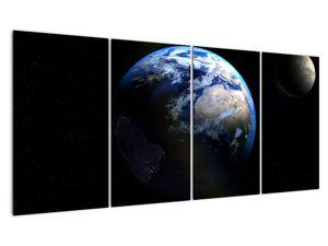 Föld és a Hold képe (V020671V16080)