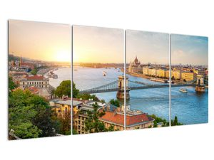 Obraz města Budapešť s řekou (V020712V16080)