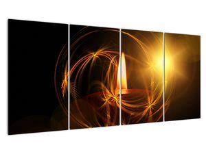 Tablou cu lumânare (V020812V16080)