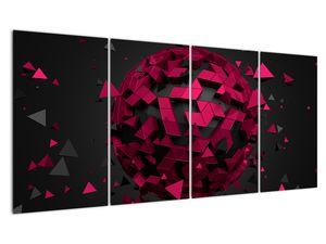 Obraz 3D abstrakce (V020866V16080)