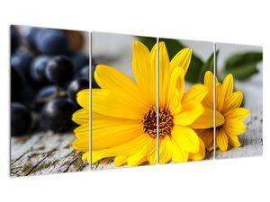 Obraz žluté květiny (V020952V16080)