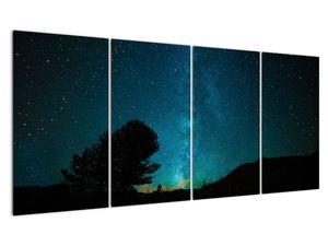 Obraz nočnej oblohy s hviezdami (V021100V16080)