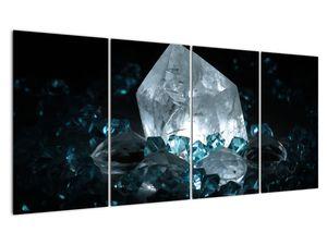 Schilderij - Kristal (V021107V16080)