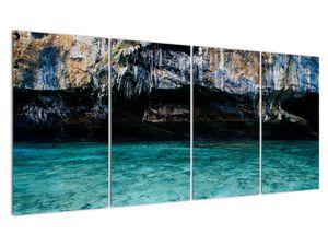 A víz és a sziklák képe (V021152V16080)
