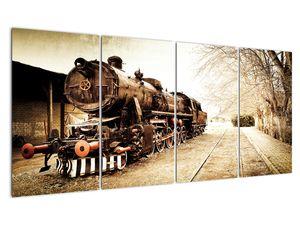 Slika - Povijesna lokomotiva (V021959V16080)