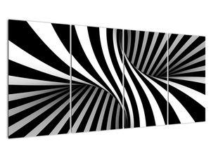 Absztrakt kép zebra csíkokkal (V021960V16080)