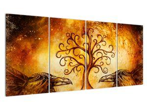 Naravna abstraktna slika drevesa (V022111V16080)