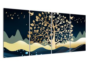 Slika zlatega drevesa (V022286V16080)