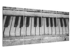 Egy régi zongora képe (V022562V16080)