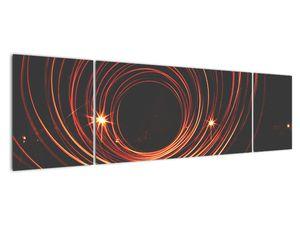 Obraz abstraktních linek (V020030V17050)