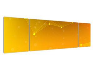 Abstraktní žlutý obraz (V020045V17050)