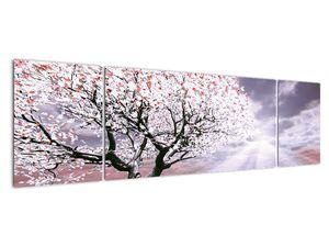 Červený obraz stromu (V020052V17050)