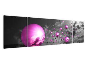 Obraz ružových gulí (V020108V17050)
