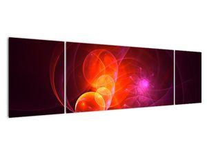 Moderní obraz růžové abstrakce (V020129V17050)