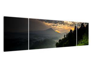 Obraz - zelená horská krajina (V020249V17050)