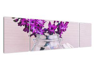 Obraz fialových květin (V020367V17050)