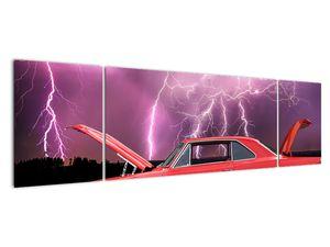 Slika crvenog automobila (V020409V17050)