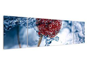 Kép - málna részlete a vízben (V020516V17050)
