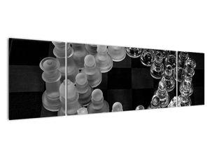 Obraz - černobílé šachy (V020598V17050)