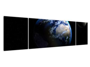 Föld és a Hold képe (V020671V17050)