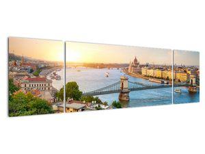Obraz města Budapešť s řekou (V020712V17050)