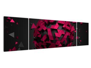 Obraz 3D abstrakce (V020866V17050)