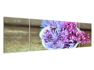 Obraz dekorace s levandulí (V020874V17050)