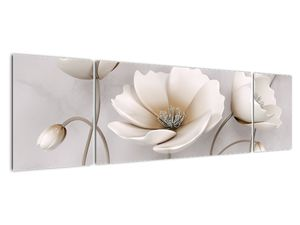 Obraz bílých květin (V020898V17050)