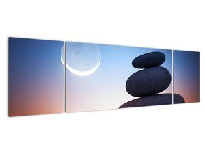 Obraz poskládaných kamenů na sobě (V020903V17050)