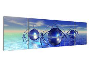 Obraz abstrakce - voda (V021284V17050)