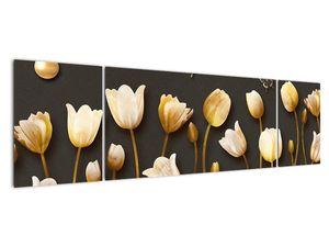 Obraz - Tulipány - abstraktné (V021347V17050)
