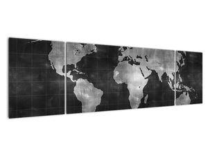Obraz - Mapa světa (V021461V17050)