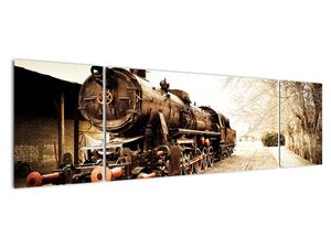 Slika - Povijesna lokomotiva (V021959V17050)