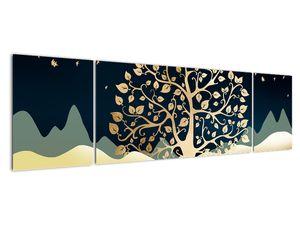 Slika zlatega drevesa (V022286V17050)
