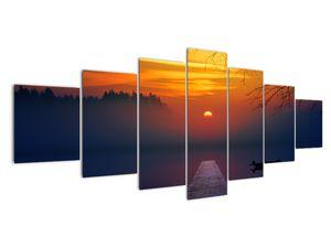 Híd képe naplementekor (V020012V210100)