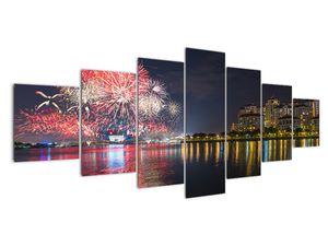 Tablou cu artificii in Singapur (V020035V210100)